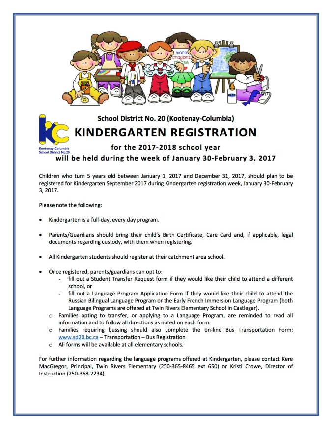 kindergarten-registration-notice