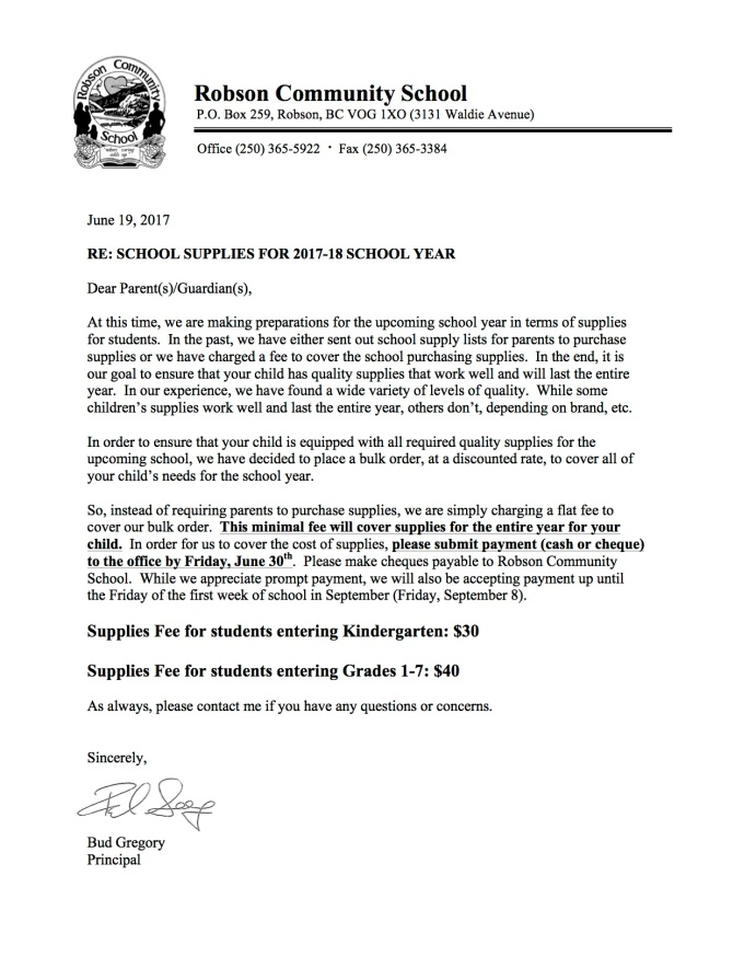 June 2017 School Supplies Letter to Parents.jpg